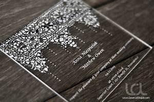 acrylic wedding invitations marina gallery fine art With acrylic wedding invitations diy