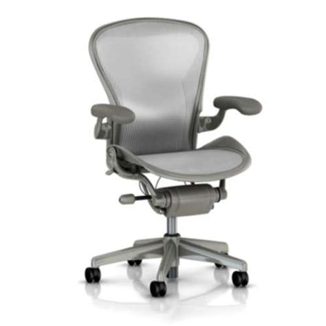 aeron basic titanium herman miller aeron work chairs