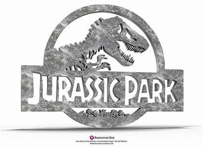 Jurassic Park 3d Photoshop Resources Box Psdbox