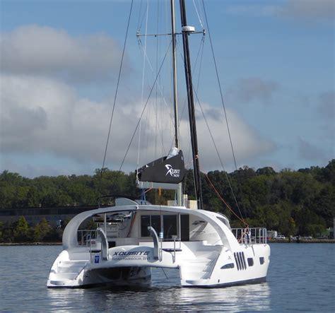 Catamaran X5 by 2016 Annapolis Test Sails Xquisite X5 Solaris 50 Sailfeed