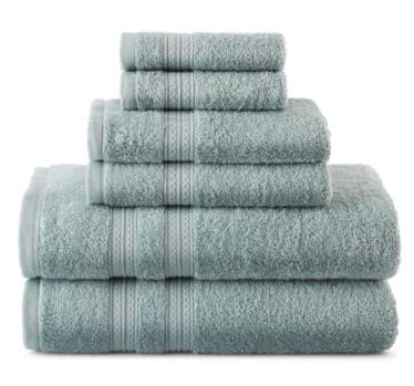 Jcpenney Bathroom Towel Sets by Jcpenney Home Expressions 6 Bath Towel Set Only 17