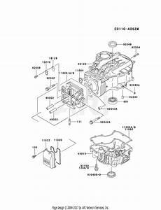 Kawasaki Fc401v Crankcase