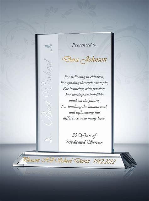 retirement plaques awards images  pinterest