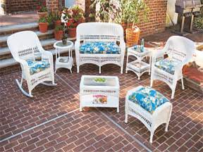porch furniture sets walmart wicker furniture cushions