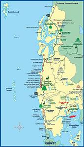 Maps of Khao Lak