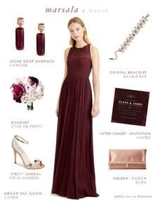 silver plus size wedding dresses marsala bridesmaid dress