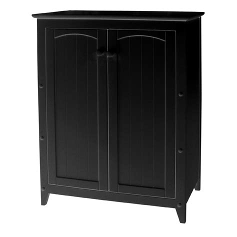 White Double Door Cabinet Stylish And Versatile Storage