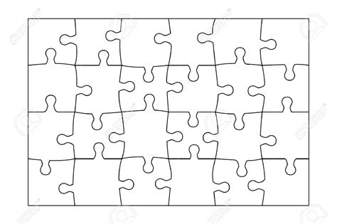 Jigsaw Puzzle Template For Word by Jigsaw Puzzle Template Sadamatsu Hp