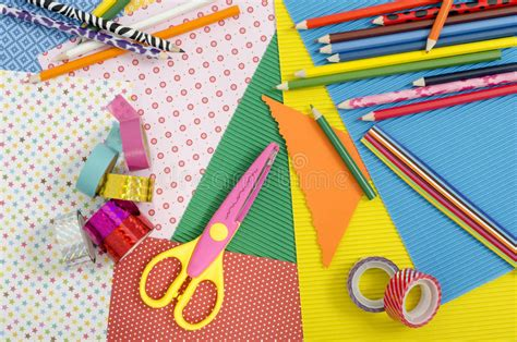 arts and crafts supplies arts and craft supplies stock photo image 51984449 3386
