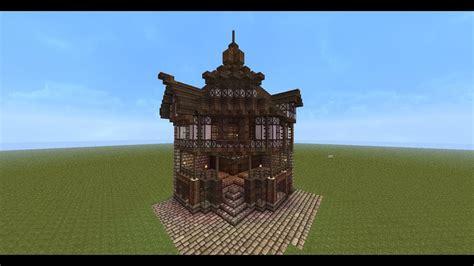 minecraft  england style corner house tutorial youtube