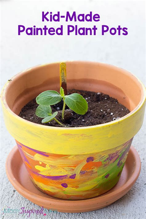 Seed Planters by Kid Made Painted Planter Or Flower Pot
