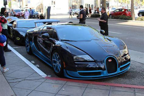 Blue Bugatti Veyron Vitesse Aka Bleugatti 4 Million Dollar