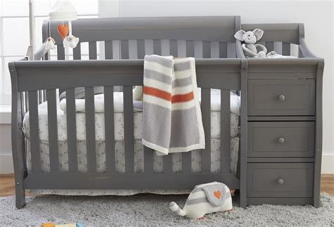 grey cribs for new sorelle princeton elite 4 in 1 convertible crib and