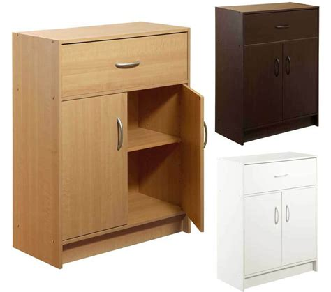 Wood Storage Cabinets With Drawers by Kitchen Cabinet 2 Door Drawer Bathroom Office Storage