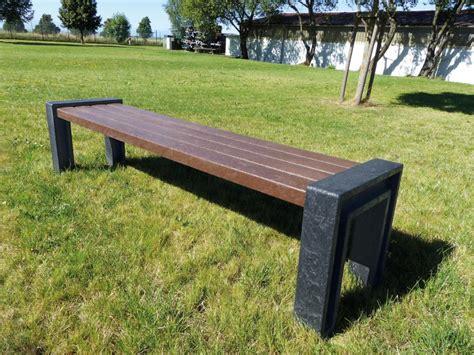 bürostuhl ohne lehne bank hyde park ohne lehne 4 sitzbohlen 2 seitenteile in u form recpro
