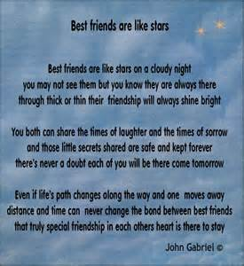 Famous Short Poems About Friendship