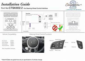 Steering Control Adaptor Phone Button Support For Kia Ceed
