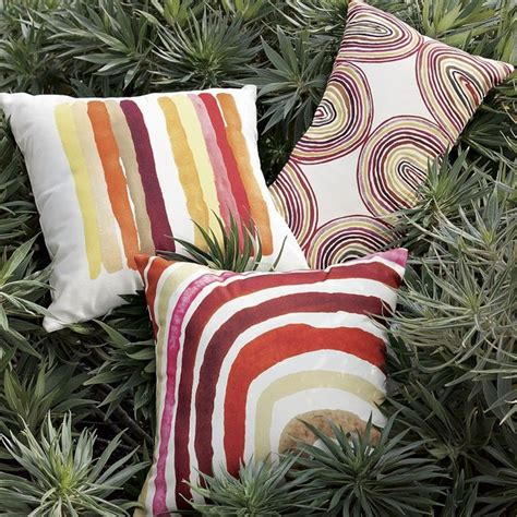 outdoor echo pillow contemporary outdoor cushions and