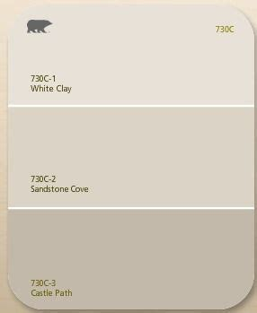 behr s white clay sandstone colors neutrals