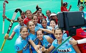 Photos: On Dhyan Chand's birthday, Indian women's hockey ...