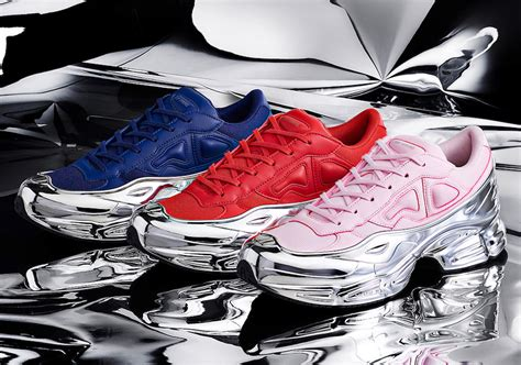raf simons adidas ozweego mirrored pack release date sbd