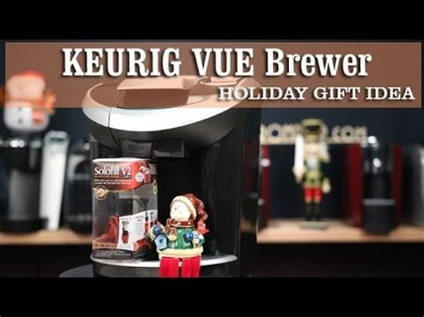 Keurig VUE Coffee Maker   Solofill V2 Reusable Filter for K Cups   Coffee Gifts Idea   YouTube