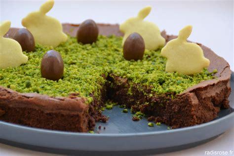 recette dessert chocolat rapide fondant au chocolat pour lapin de p 226 ques radis