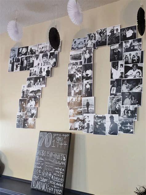 70 Birthday Decorations by Easy 70th Birthday Ideas Planning My S