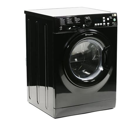 black washer and dryer buy hotpoint wdpg9640k washer dryer black free