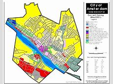 City of Amsterdam 2001 Zoning Map – Mohawk Valley Compass