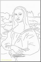 Mona Lisa Coloring Da Vinci Leonardo Pages Sculpture Getcolorings Printable Leonardos Horse Gioconda Getdrawings Colorings sketch template