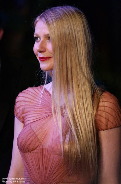Photo of Gwyneth Paltrow with long hair well below her
