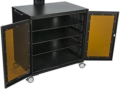 Floor Standing TV Cart with Power Management   AV Cabinet