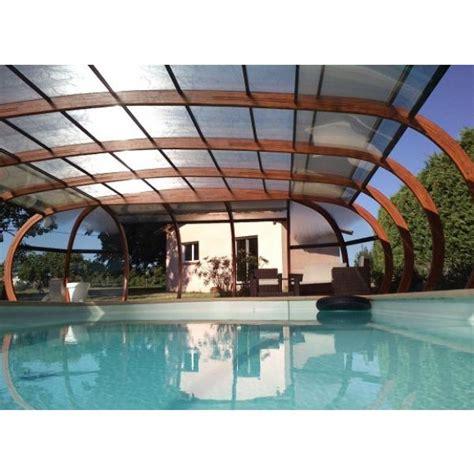 abri piscine bois lamelle colle abris de piscine en bois lamell 233 coll 233 arcabri