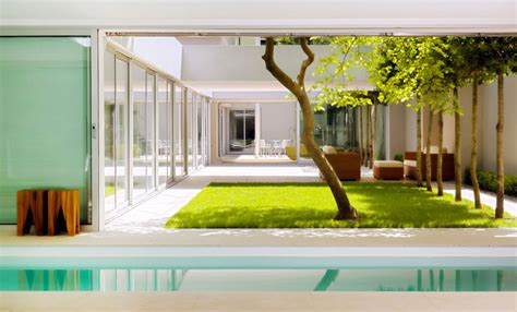atrium house  munich  harlaching max brunner architekt