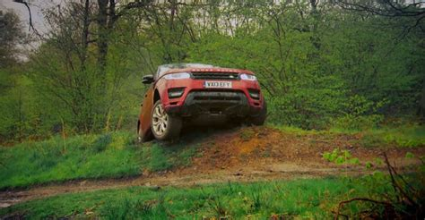 land rover water water mud and adrenaline test driving the range rover sport