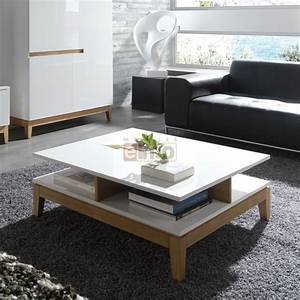 Table Basse Moderne : table de salon moderne maison design ~ Melissatoandfro.com Idées de Décoration