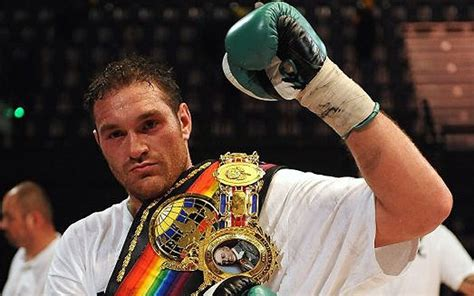 Tyson Fury Mental Health