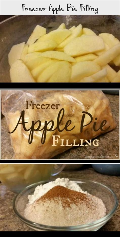 Fill a large bowl halfway with water. Freezer Apple Pie Filling. An easy way to put up apples to enjoy a quick dessert all winter long ...