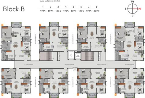 Appartment Plan by 1085 Sq Ft 2 Bhk 2t Apartment For Sale In Greenmark