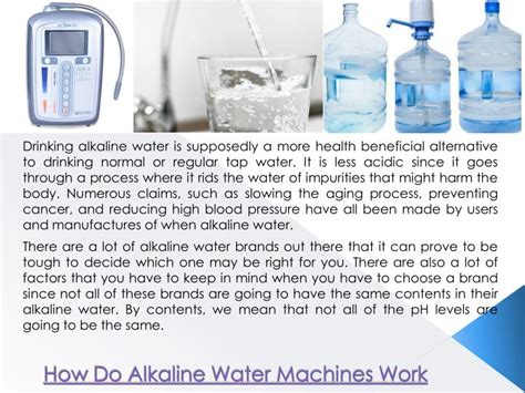 Ppt  What Is Alkaline Water Powerpoint Presentation Id7465142