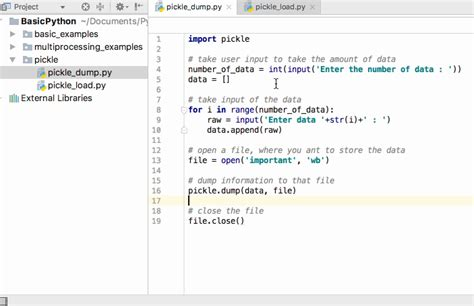 python pickle exle journaldev
