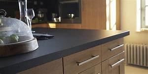 Plan De Travail Gris Anthracite : plans de travail de cuisine tout ce qu 39 il faut savoir ~ Dailycaller-alerts.com Idées de Décoration
