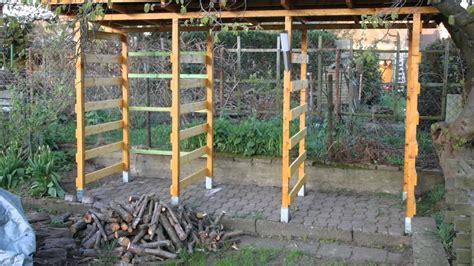 Selbst Gebaut! Holzunterstand