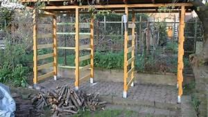 Holzlagerung Im Haus : selbst gebaut holzunterstand youtube ~ Markanthonyermac.com Haus und Dekorationen