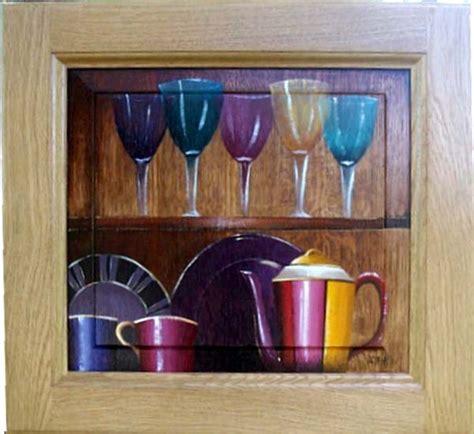 cuisine trompe l oeil peinture sur meubles meubles déco peinture en trompe l