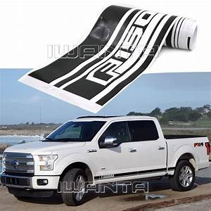 2x Graphics Side Skirt Stripe Sticker Body Decal Decor For