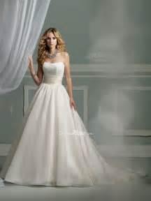 princess wedding dress princess satin strapless wedding dress with lace sang maestro