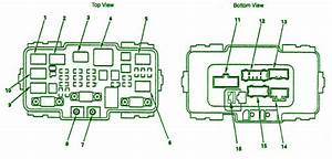 2005 Honda Odyssey Under The Hood Fuse Box Diagram  U2013 Auto