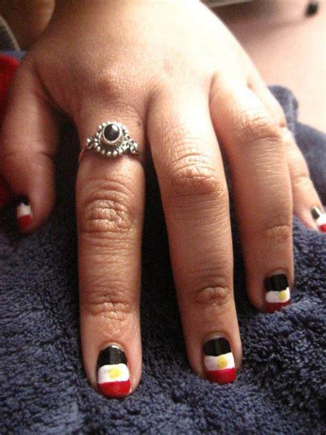 egyptian flag nails  flag   nail nail painting